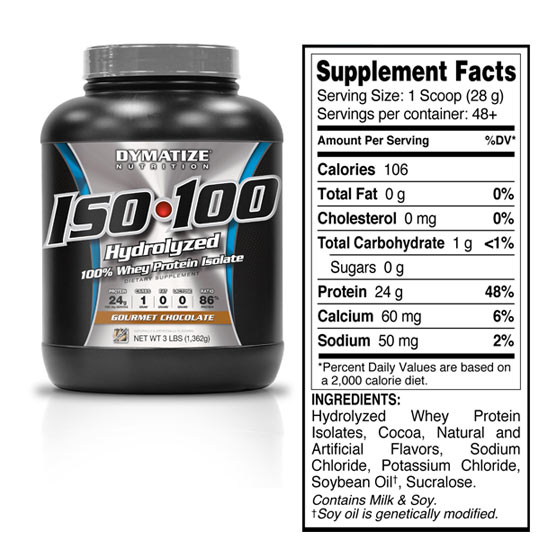 Dymatize® Nutrition ISO 100 | Premiere Health Care